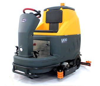 MC90 RIDE-ON AUTOMATIC FLOOR SCRUBBER-SWEEPER