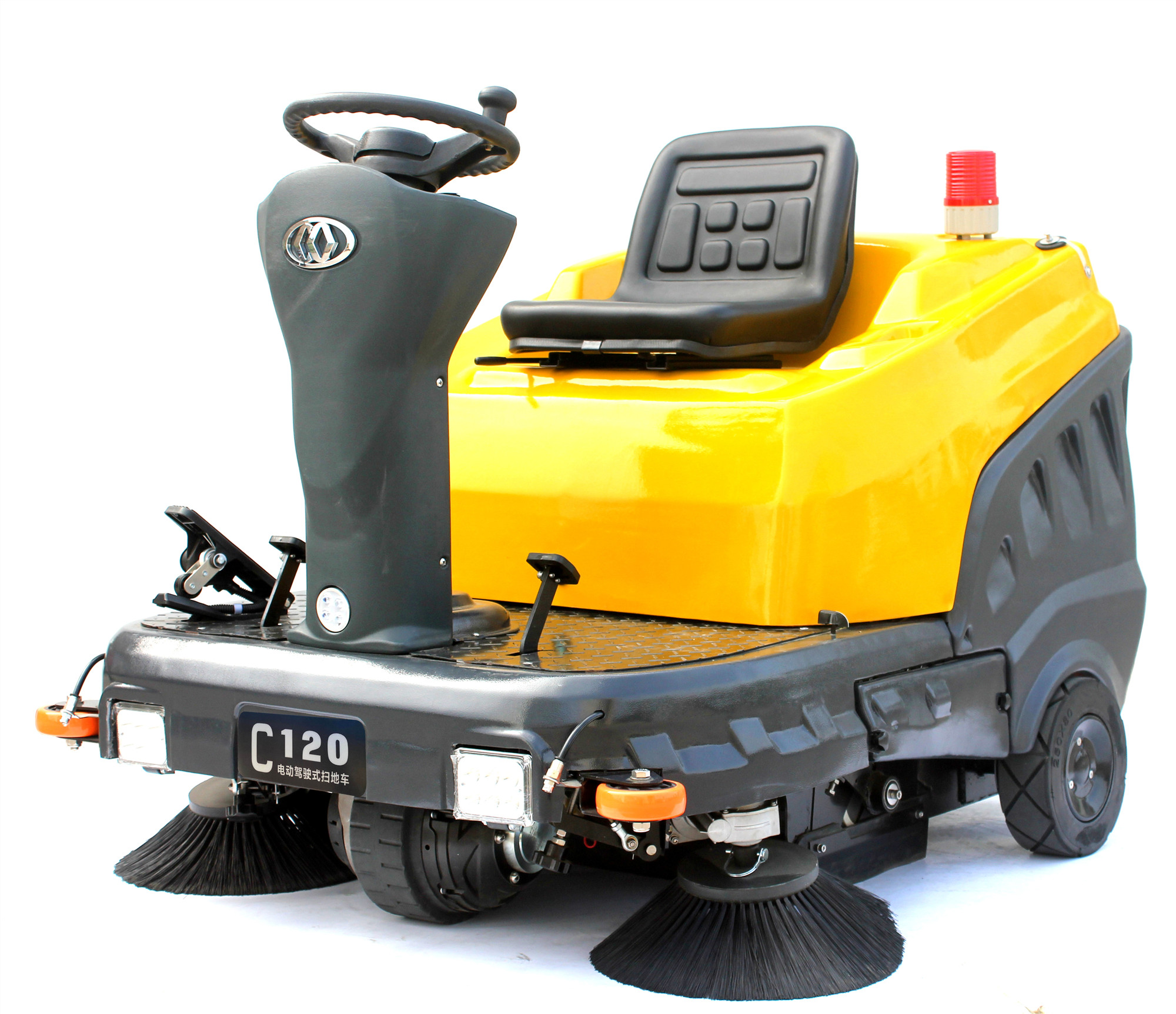 C120 AUTOMATIC RIDE-ON SWEEPER