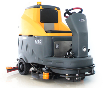 M90 AUTOMATIC RIDE-ON FLOOR SCRUBBER MACHINE