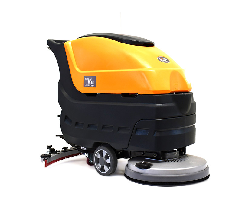 M55 MANUAL/AUTOMATIC WALK-BEHIND AUTOSCRUBBER